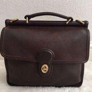 Vintage Coach Legacy Willis Station Bag Crossbody